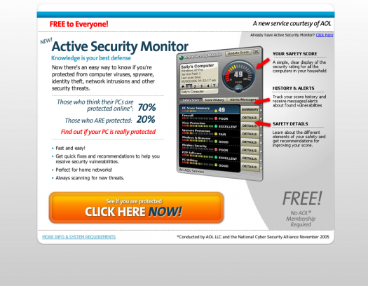 Active Security Monitor