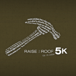 Raise the Roof 5K Event Logo ~2004
