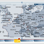 US Airways Interactive Map ~2004