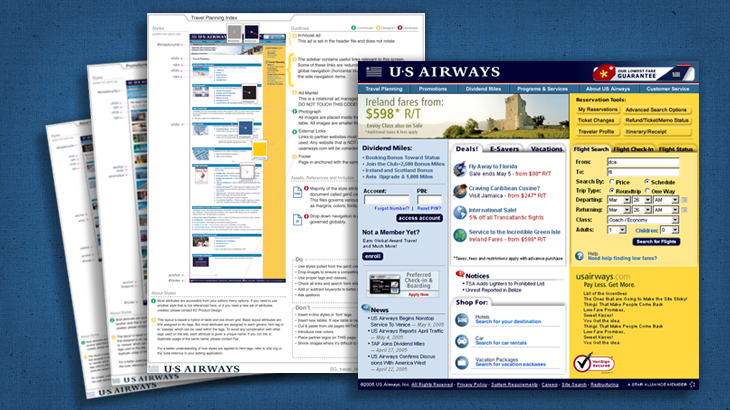 US Airways Style Guide